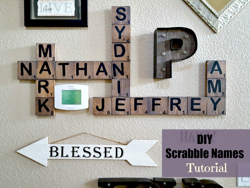 Learn The Easiest Way To Make Large Diy Scrabble Tiles
