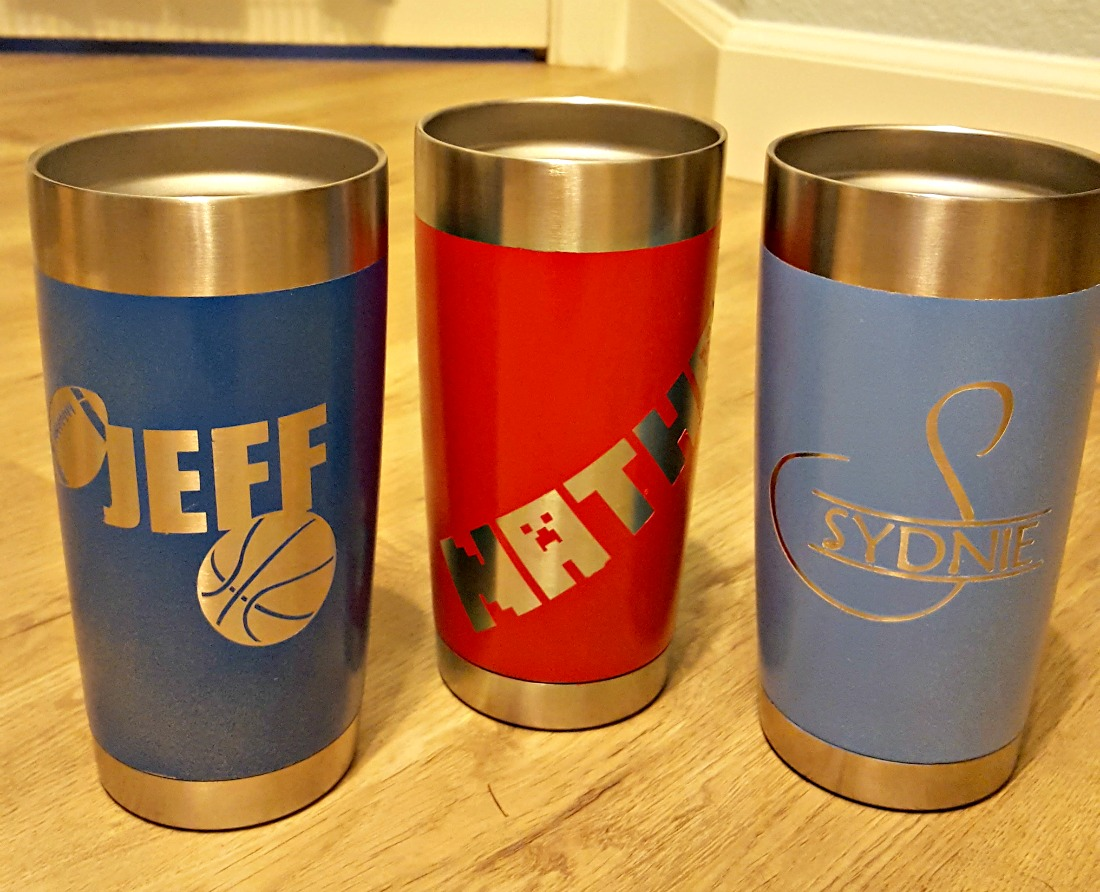 How to paint a yeti or ozark stainless steel mug leap of for How to paint a mug