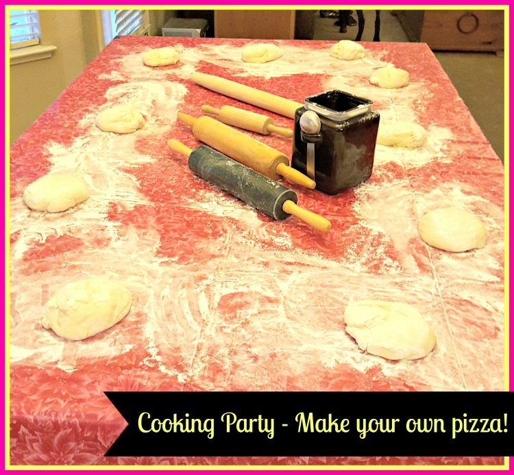 baking birthday party
