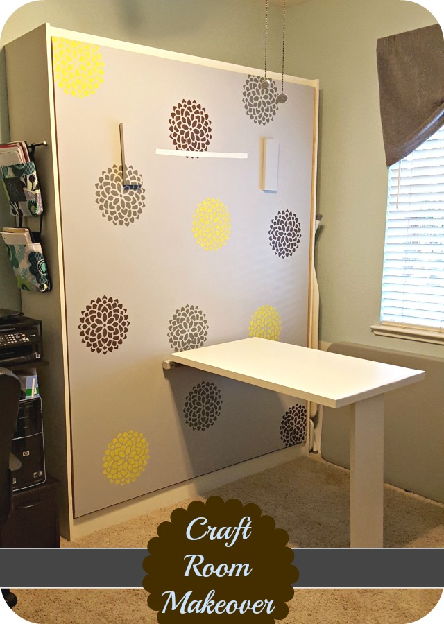 wall mounted table diy