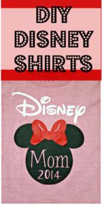 Disney shirts for the family