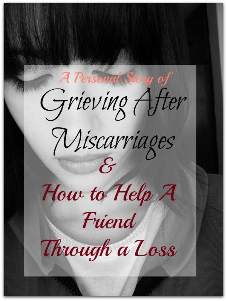grieving miscarriage