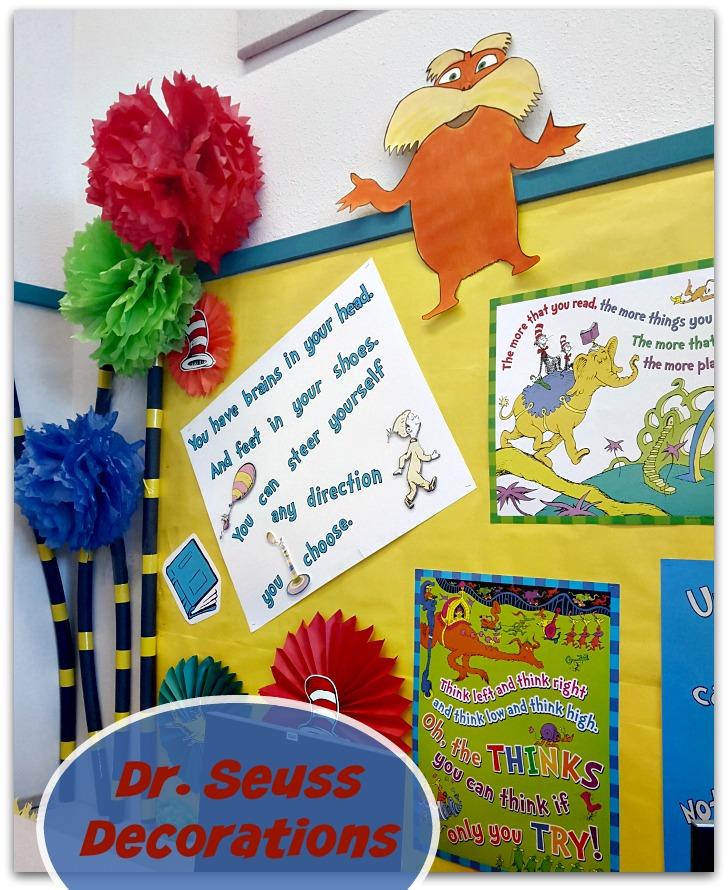 dr. seuss decorations