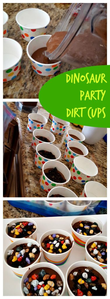 Dinosaur Dirt Cups