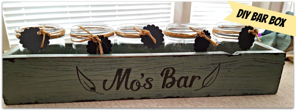 rustic bar decor