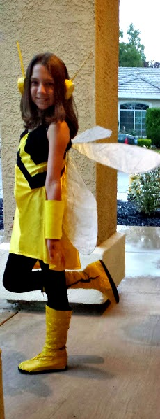 diy Wasp costume