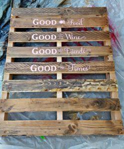 vinyl wood stencil