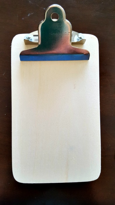 mini clipboard wood