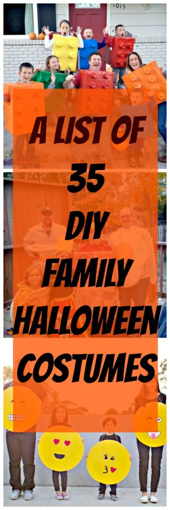diy fun family Halloween costumes