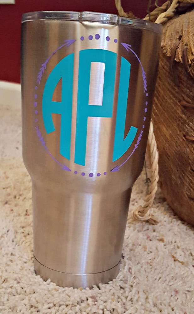 decorating yeti ozark tumblers