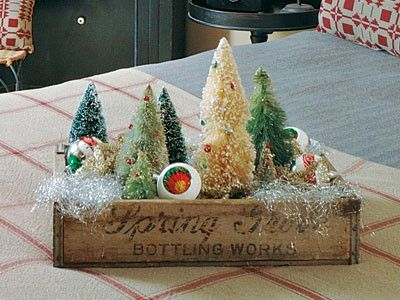 christmas wood box decor