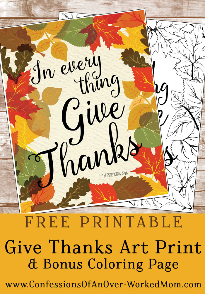 free thanksgiving printables coloring page