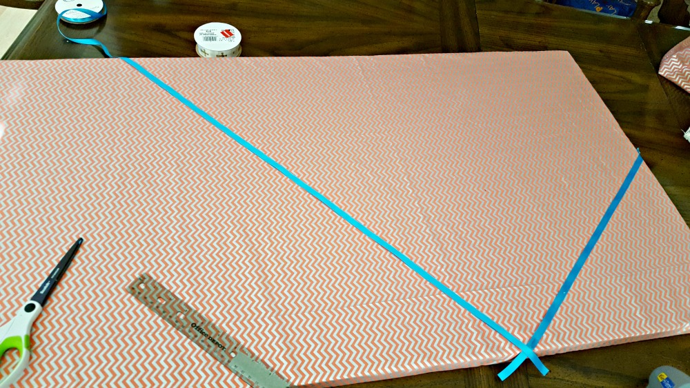 diy personalized memo board