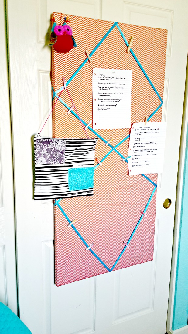 DIY Notice Board