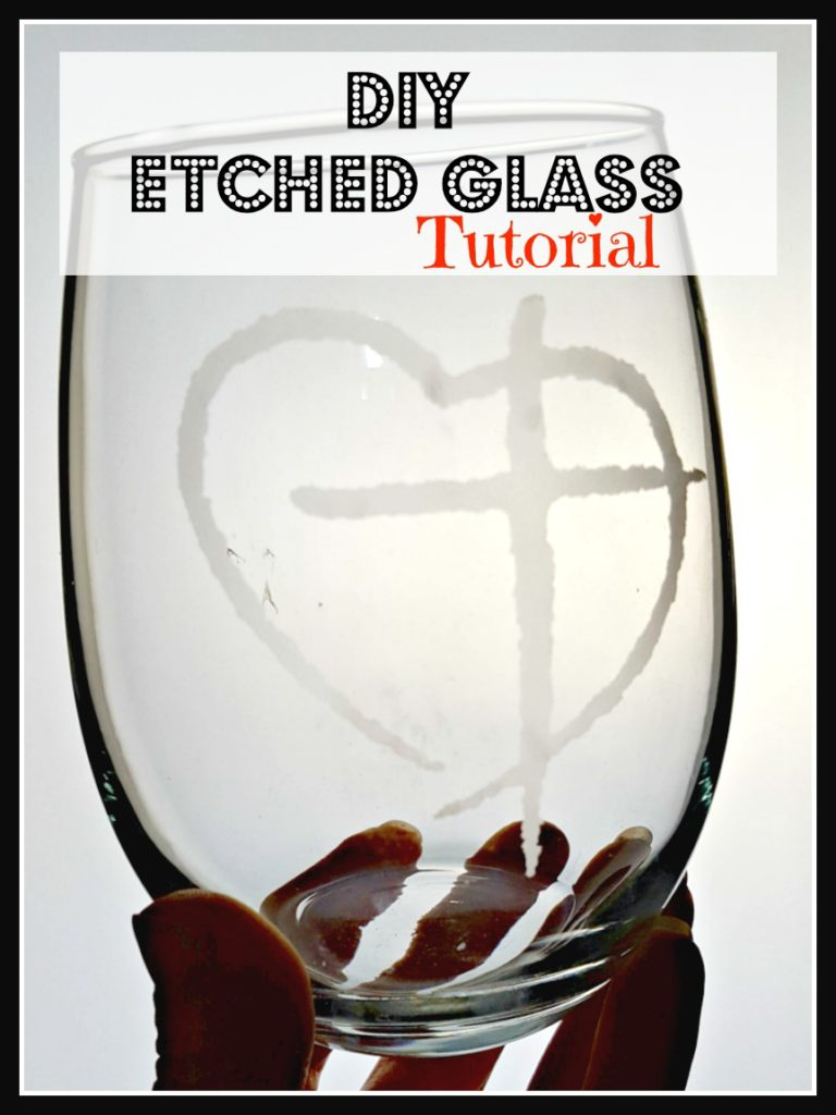 etched wine glasses diy
