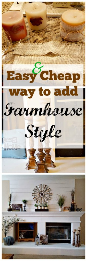 Farmhouse Decor on a Budget!