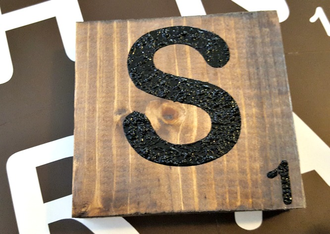 Learn The Easiest Way To Make Large Diy Scrabble Tiles Leap Of Faith Crafting