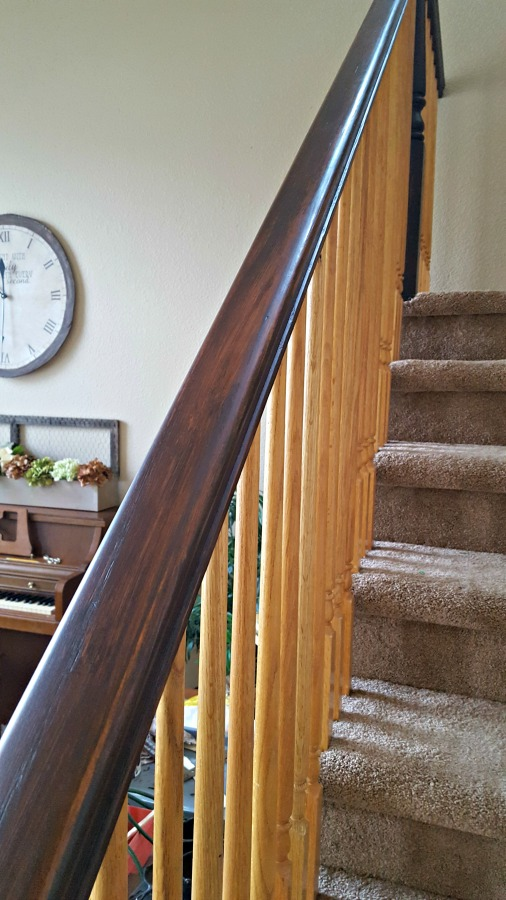 Staircase Refinishing the Easy Way and For Under $50 ...