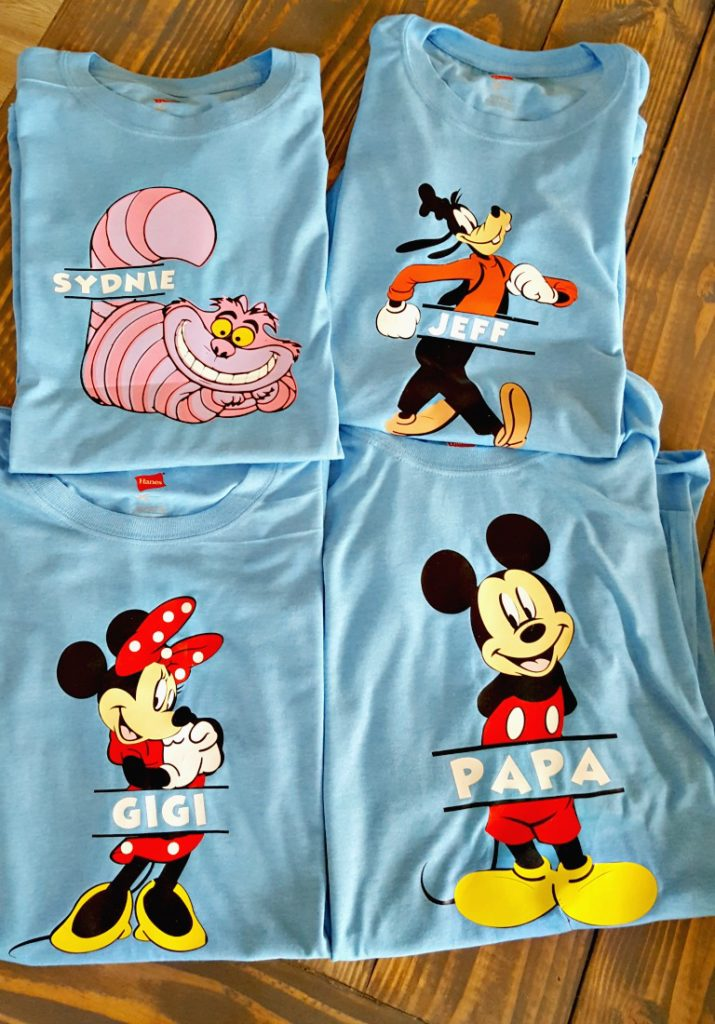 DIY Disney Shirts tutorial