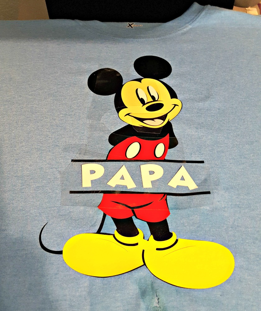 Cricut Disney Shirts Tutorial