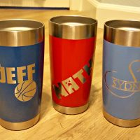 How to Make a Custom Yeti or Ozark Stainless Steel Mug for Cheap!