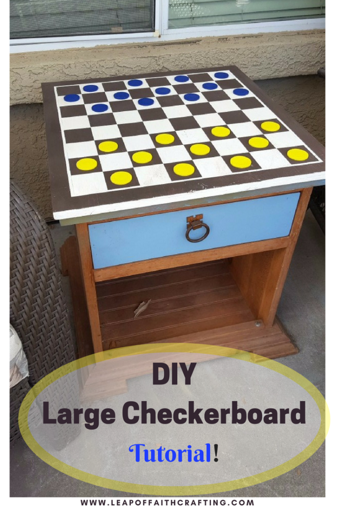 Play Checkers Or Chess Outside With This Easy Diy Chess