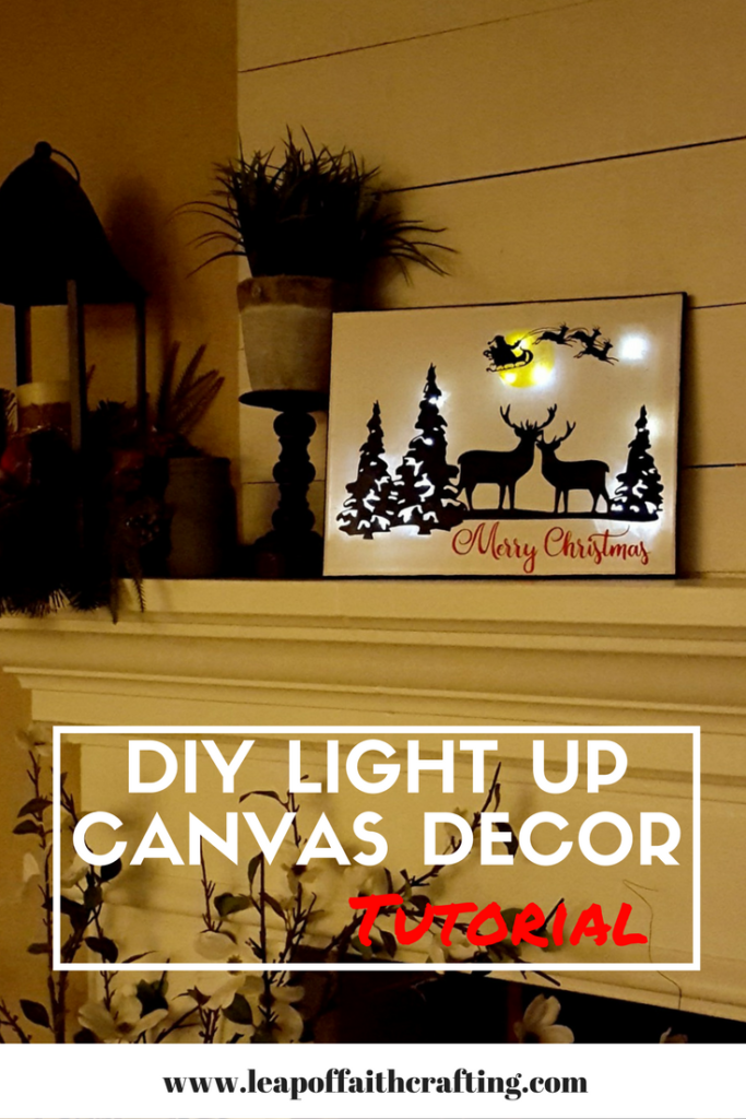 Cricut Christmas projects Wall Decor