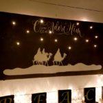 Nativity Lit Up Wall Decor DIY