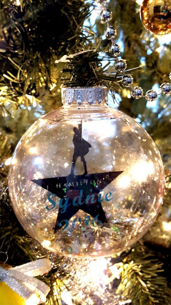 Hamilton Christmas Ornament.Diy Christmas Ornament To Make For Your Kids Each Year
