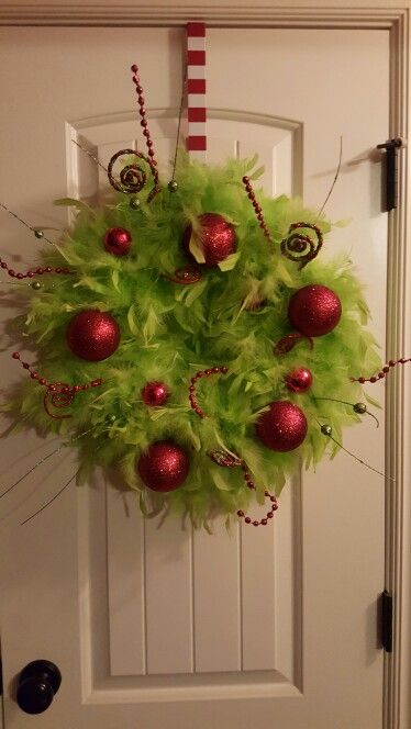The Grinch Christmas Tree Decorations.Grinch Crafts And Diy Decorations Round Up Leap Of Faith