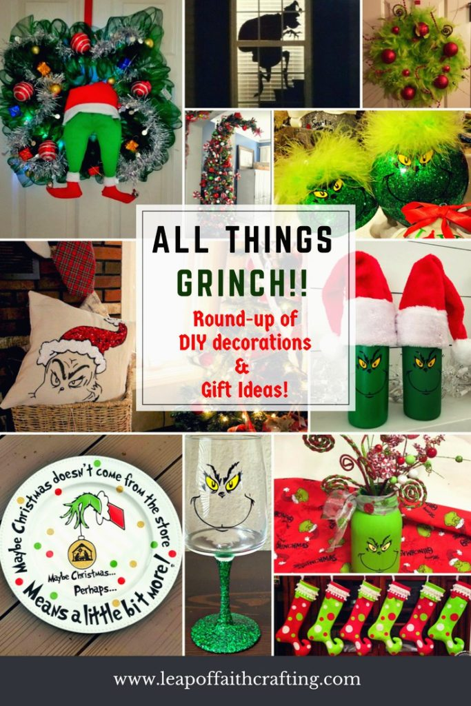 Grinch crafts