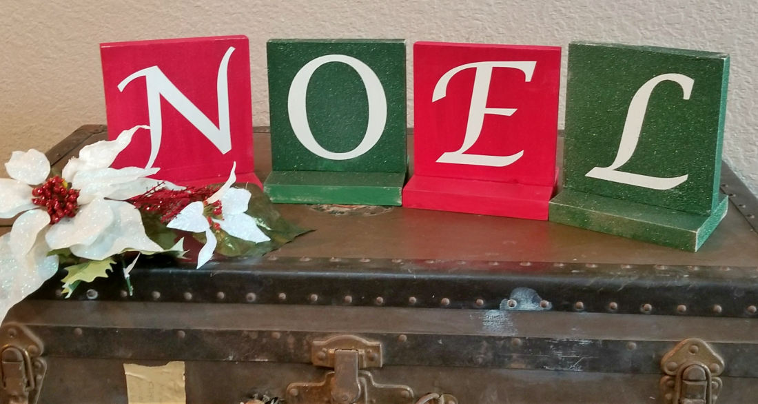 handmade holidays decor NOEL