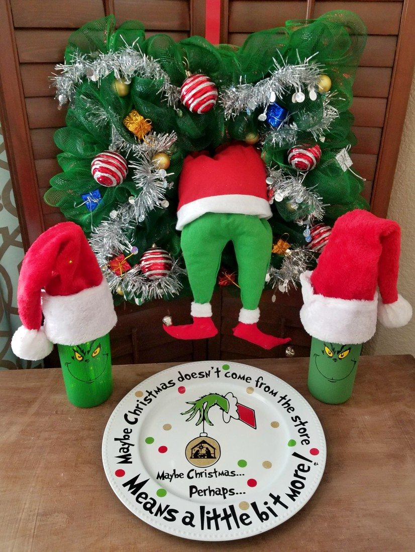 Grinch Crafts and DIY Decorations Round-up! - Leap of ...