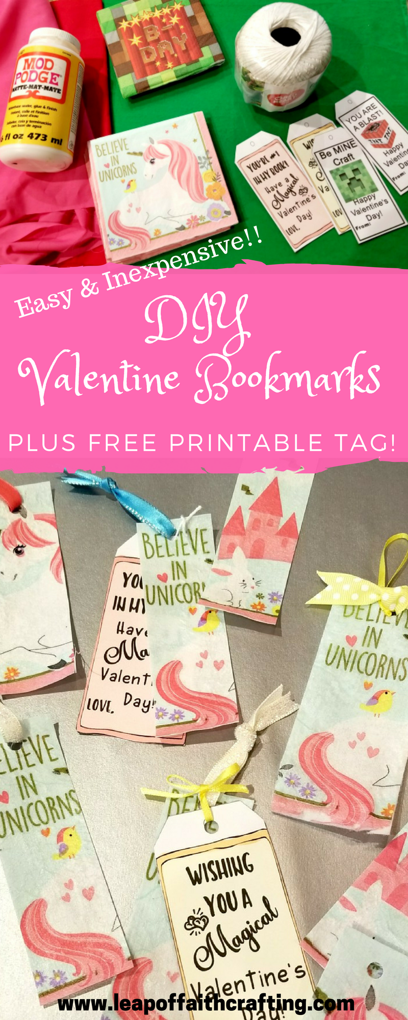 DIY Valentines for classmates