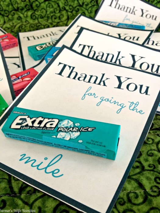 picture about Extra Gum Teacher Appreciation Printable known as The Top Roundup of Instructor Appreciation Playing cards! - Soar
