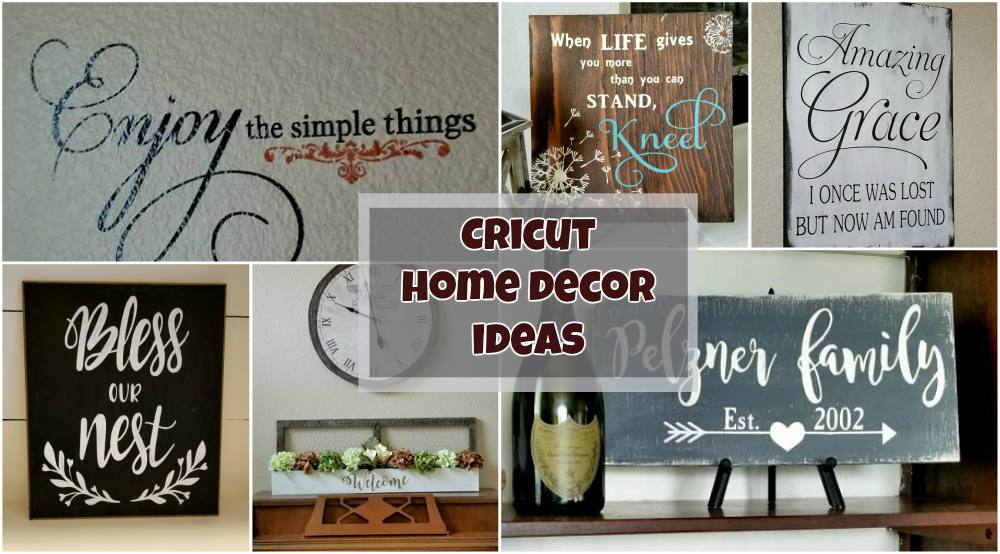 cricut decor ideas