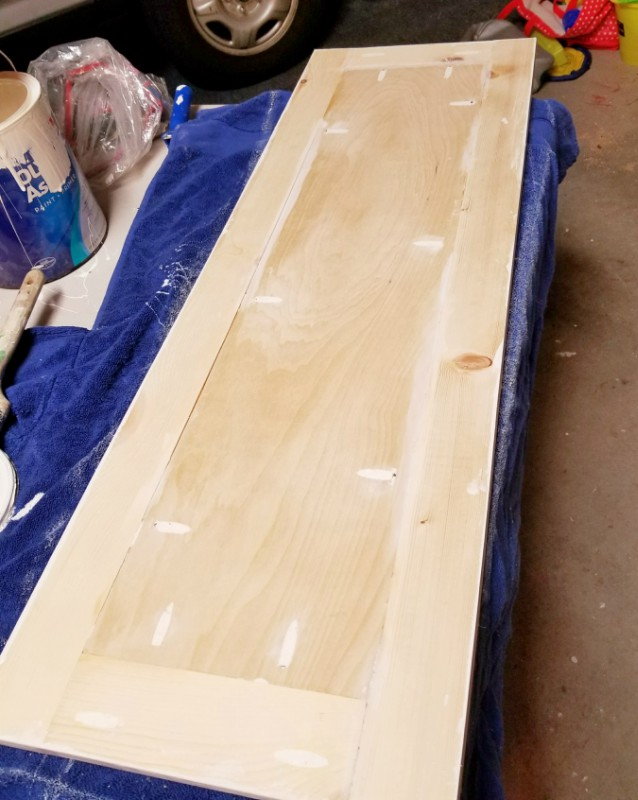 shaker style cabinet door using kreg jig