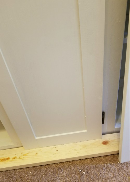 The Easiest Way To Make Shaker Cabinet Doors Leap Of Faith Crafting