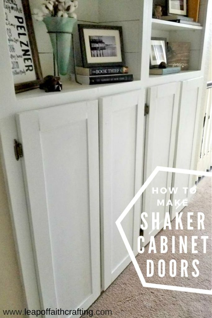 The Easiest Way To Make Shaker Cabinet Doors Leap Of