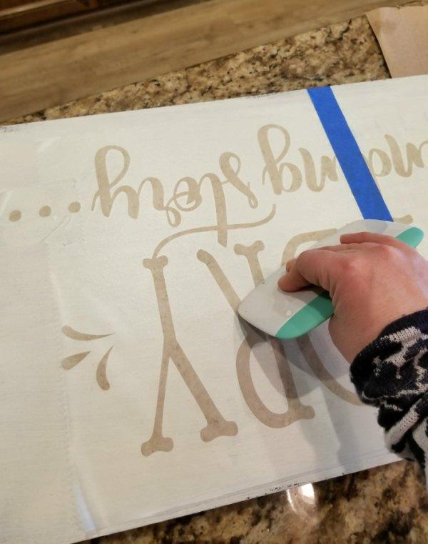 cricut-stencils-hand-painted-sign
