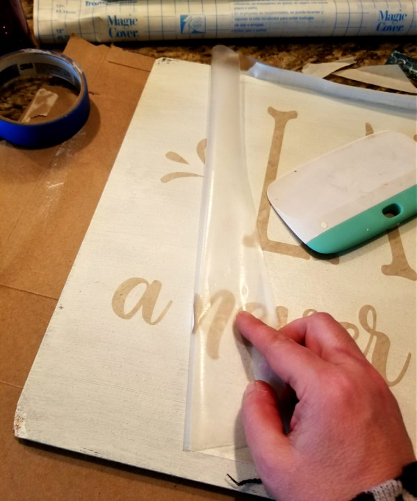 cricut-stencils-hand-painted-sign
