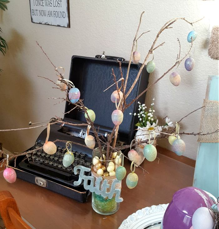 Easter tree decorations