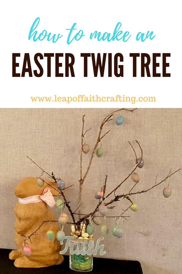 easter twig tree ornaments diy