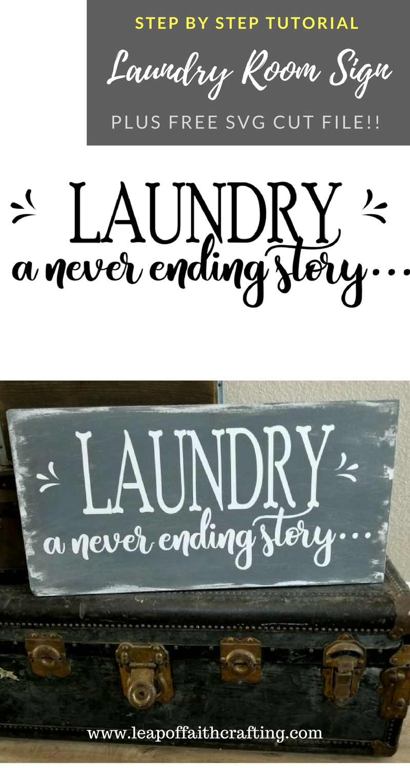 Laundry Room Sign Pin Leap Of Faith Crafting