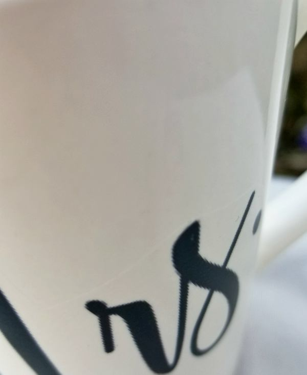 waterslide decal mug