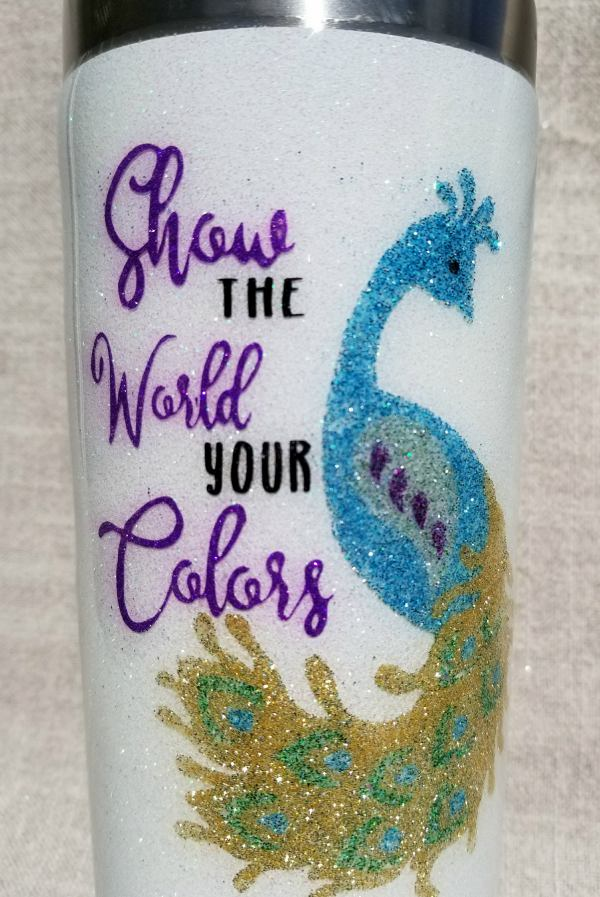 Learn How To Easily Make A Glitter Yeti Cup Or Stainless