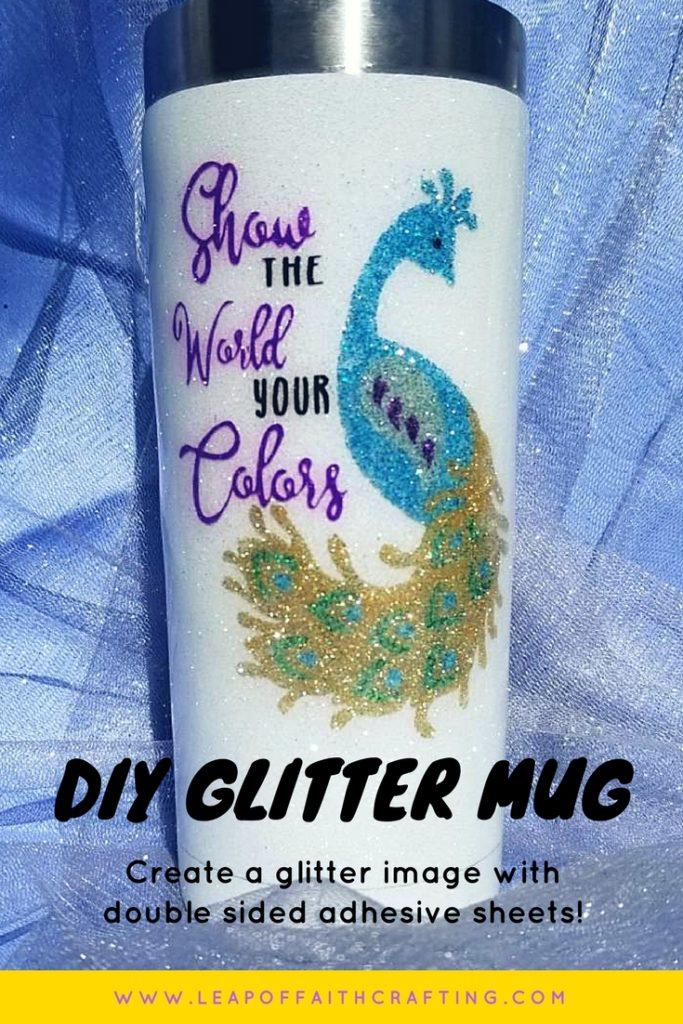 glitter yeti cup DIY