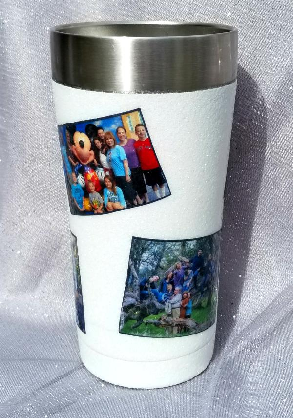decorated yeti cup