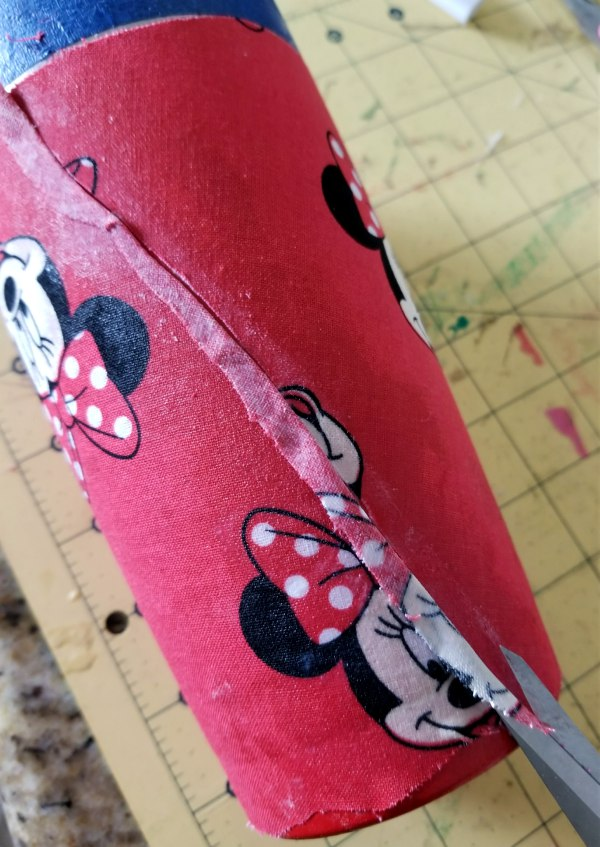 diy fabric tumbler disney