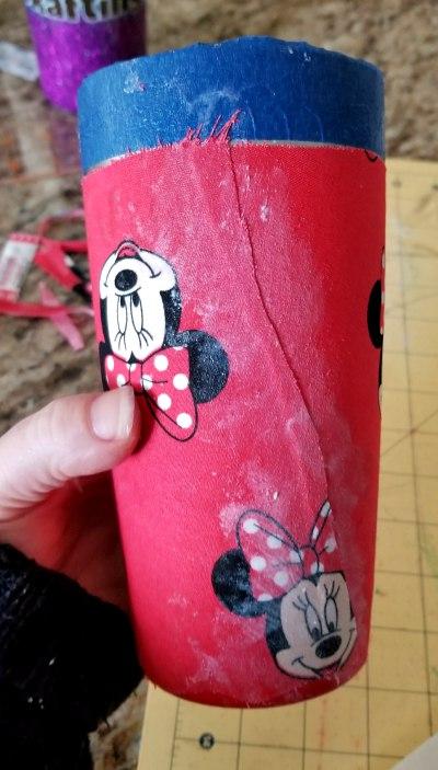 diy fabric tumbler